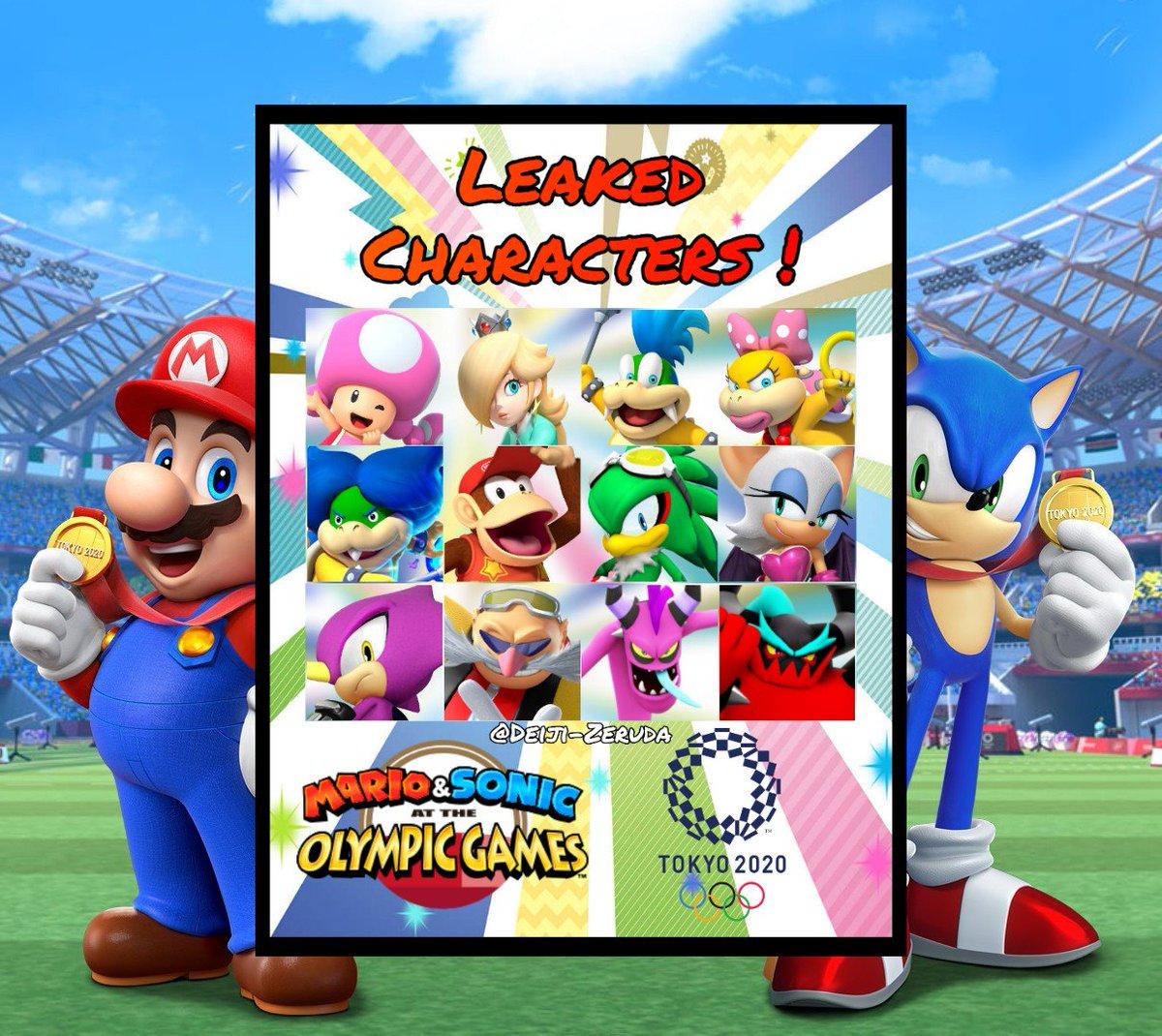 Deiji Zeruda Pa Twitter Leaked Characters For Mario