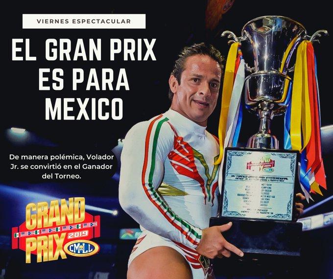 Volador Jr. Wins The CMLL Grand Prix