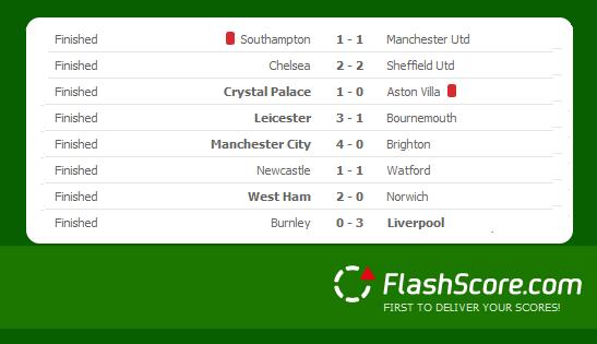 Flash Score Results