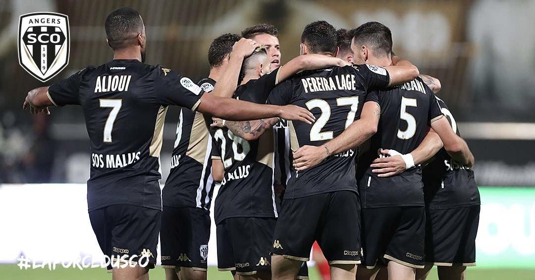 joie Angers SCO Ligue 1 photo Ouest MEDIAS