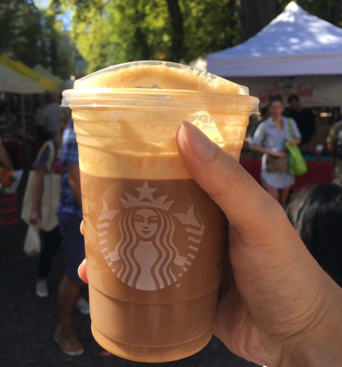 Starbucks Coffee On Twitter You Re A Pumpkin Cream Cold