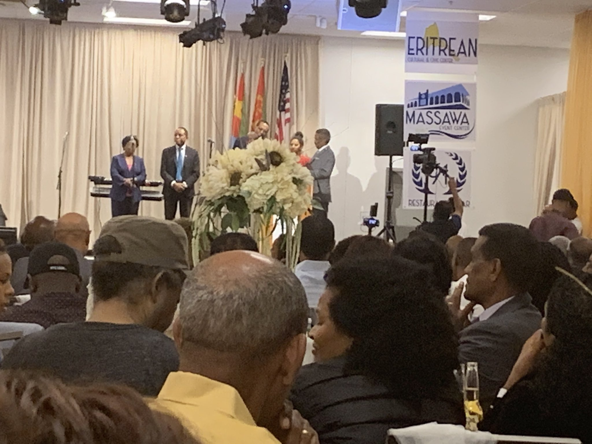 New Eritrean Community in Washington DC Officially Opens
