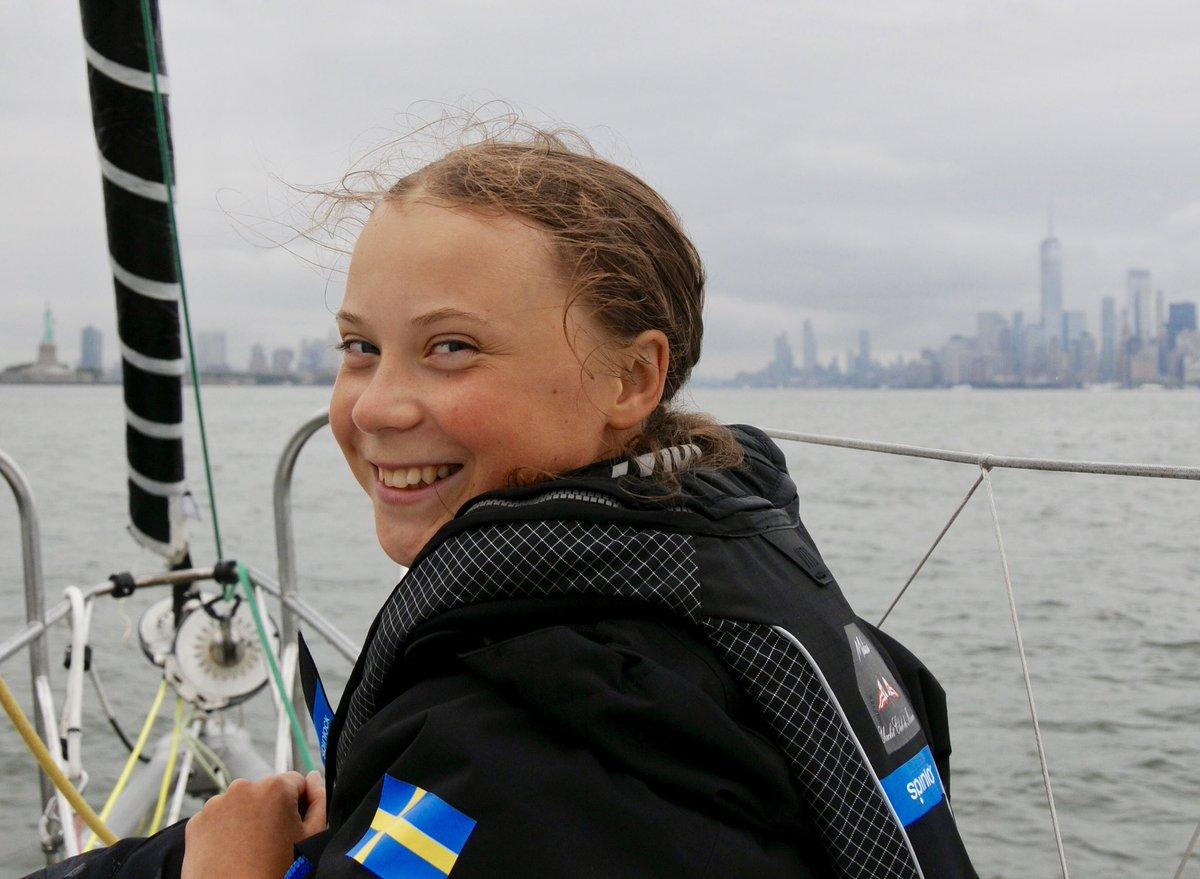 Greta Thunberg on Twitter