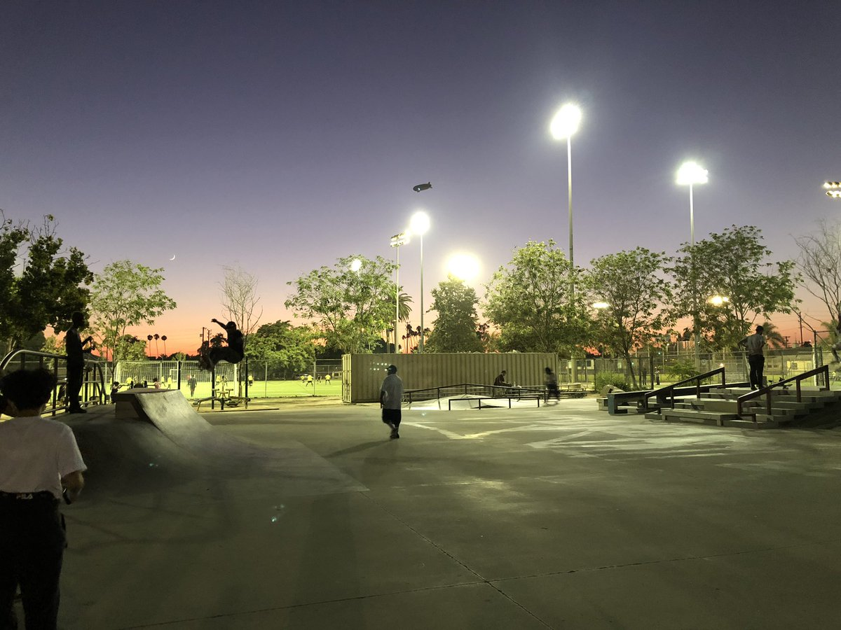 Night 2 of Skate Stay-cation: At Gilbert Lindsay Skate Park, where the kids use the N word a little too freely...