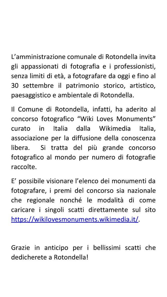 #Rotondella @WikimediaItalia #WikiLovesMonuments h...