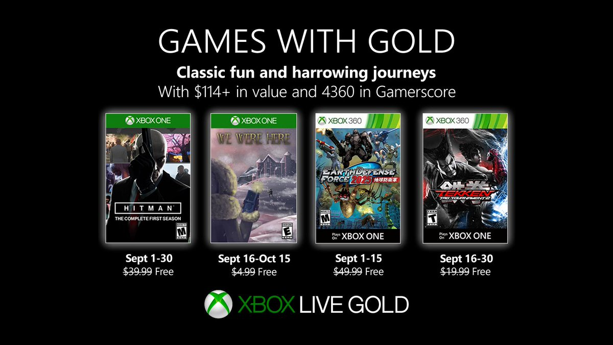 gameswithgold hashtag on Twitter