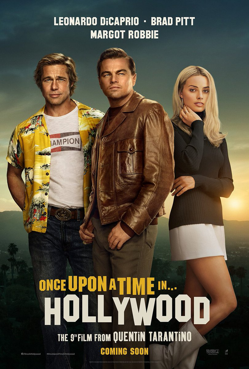 Once Upon a Time In Hollywood (2019) Hindi BluRay 480p 720p 1080p Dual Audio [Hindi DD5.1 + English] ESubs