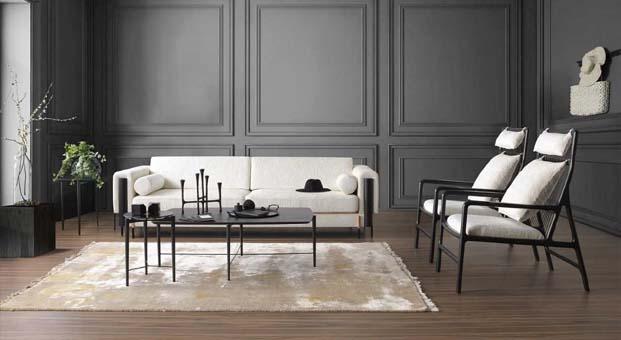 Siyah ve beyazın karşıt gücünden ilham alan cüretkar bir tasarım