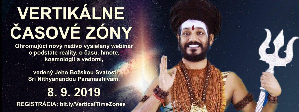 #webinář #program #iniciace #nithyananda #dimenze #neděle #živě #videokonference #košice #valašskémeziříčí #slovensko #česko #setkání #online ...čtěte více na  http://www.nithyananda-slovakia.sk/webinar-vertikalni-casove-zony/?fbclid=IwAR1JTHlWj8-H52U627gJpN1BnsagQTMleywpRoipRJaK2eOZt3x1GsUXccM…pic.twitter.com/Pbm08VILOR