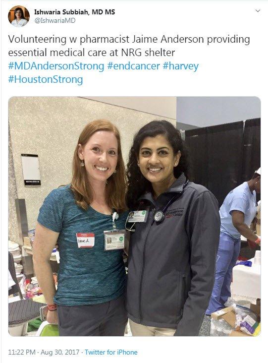 Ishwaria Subbiah, MD MS (@IshwariaMD) | Twitter