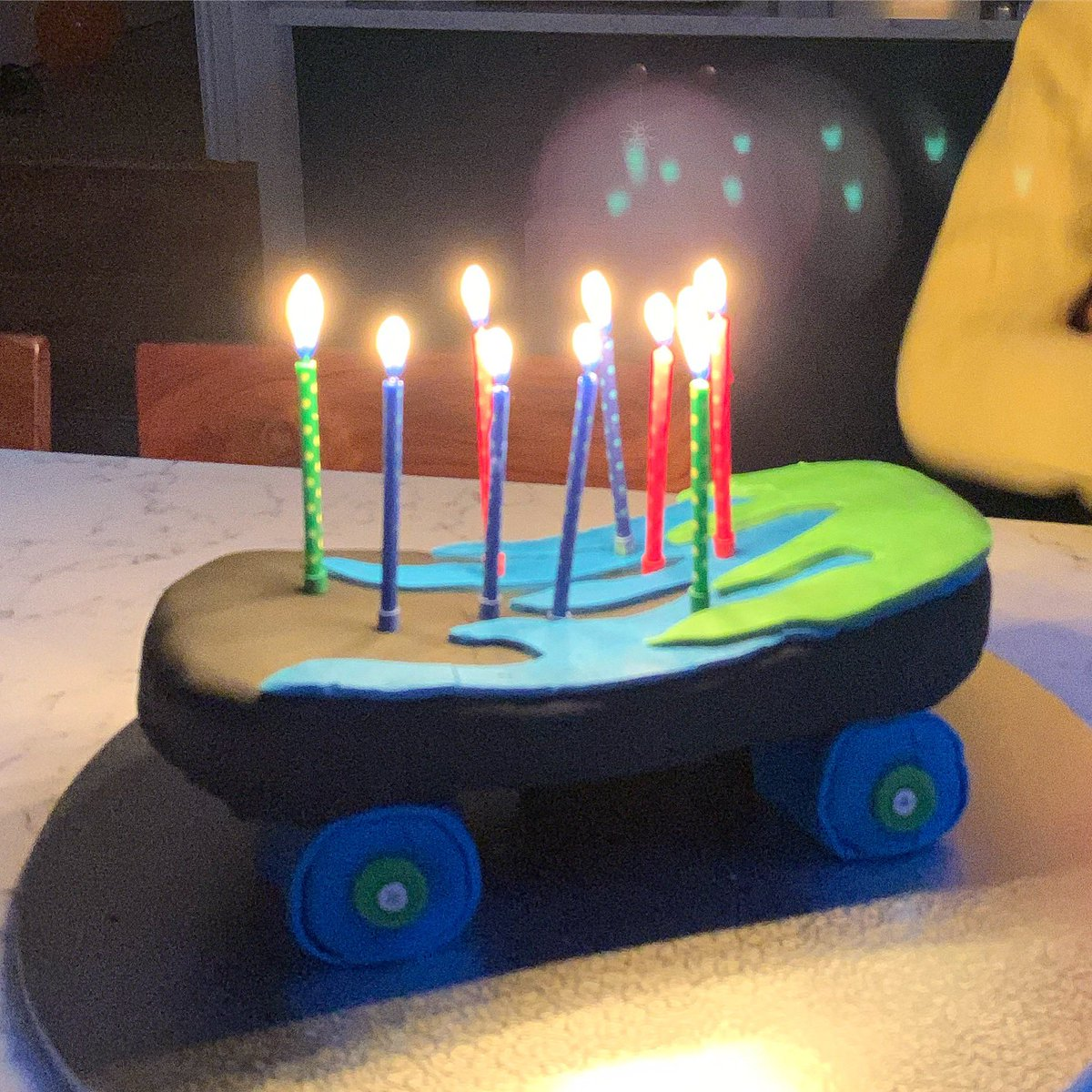 Excellent Naomi Knill On Twitter Skateboard Birthday Cake For My Biggest Funny Birthday Cards Online Elaedamsfinfo