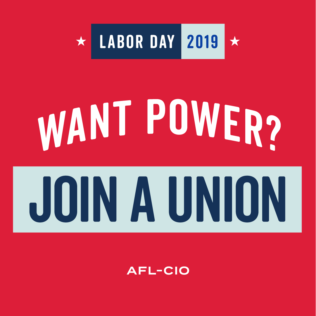 As long as workers anywhere face unfair treatment we will keep fighting! #LaborDayWeekend2019
