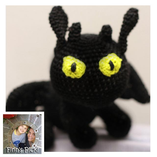 Amigurumi pattern for dragon, Toothless crochet pattern, Night ... | 640x640