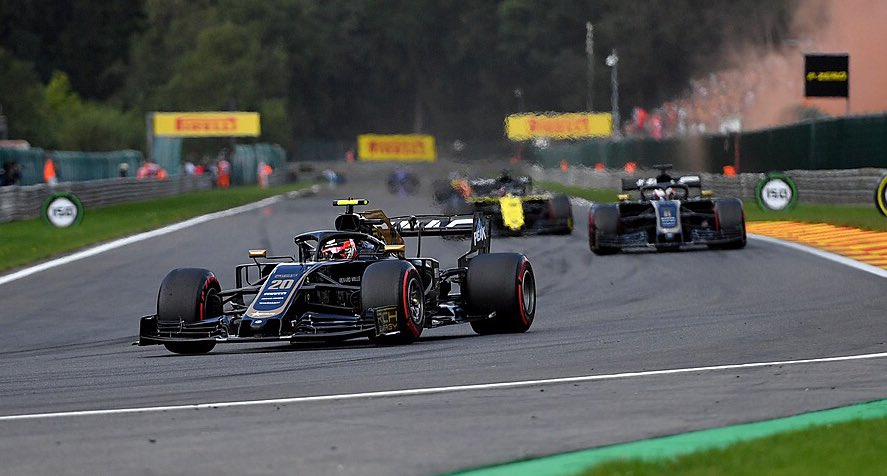 GP Belgio Haas