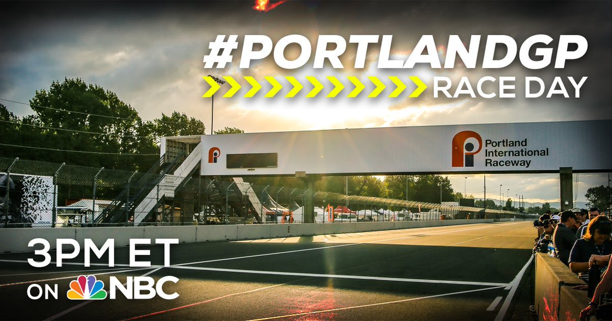 Don't miss a minute of today's #INDYCAR action, tune into @IndyCaronNBC at 3PM ET for the #PortlandGP.