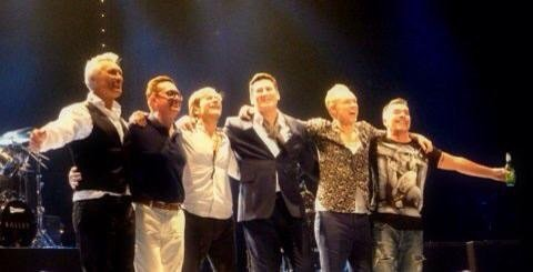 Thank you Tony , Gary , Martin , Steve , John beautiful music really helping me when feeling down love you all hope come back all together again !! X