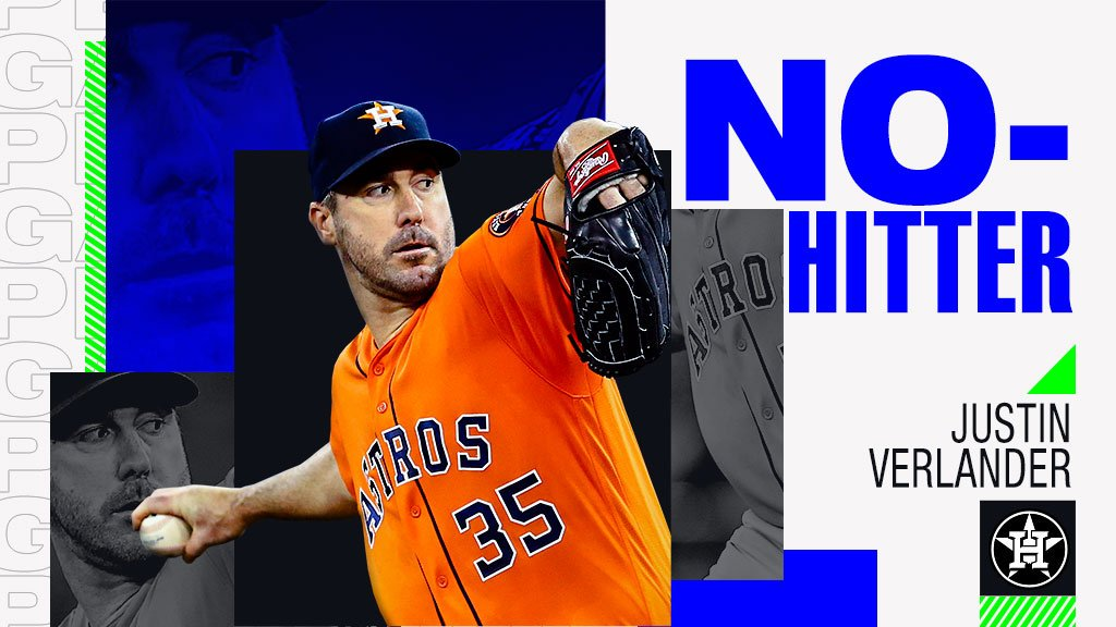Justin Verlander has tossed a no-hitter in Toronto!
