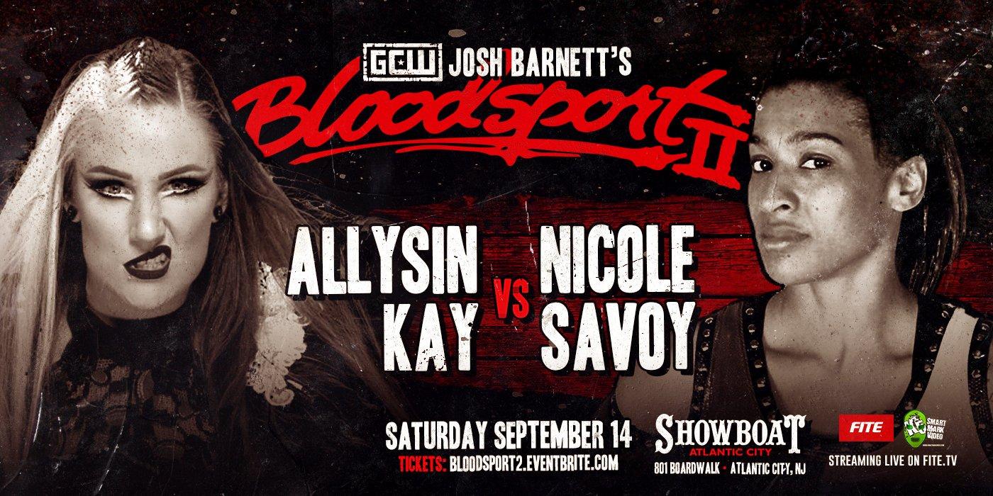 Kay-Savoy at Bloodsport 2