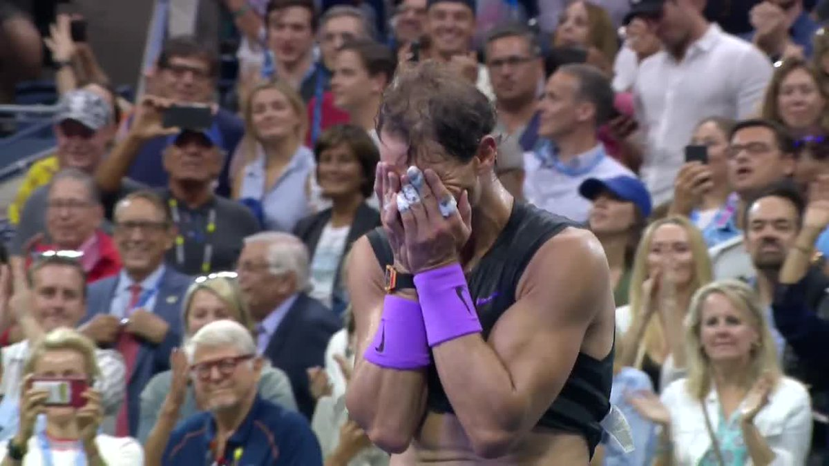 THIS is what it means ❤ @RafaelNadal | #USOpen