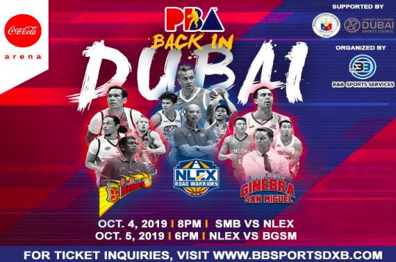 PBA: Balik-Dubai ang inyong PBA!  Tickets available ⬇️ https://t.co/4Pa02HNziZ  📍Octo...