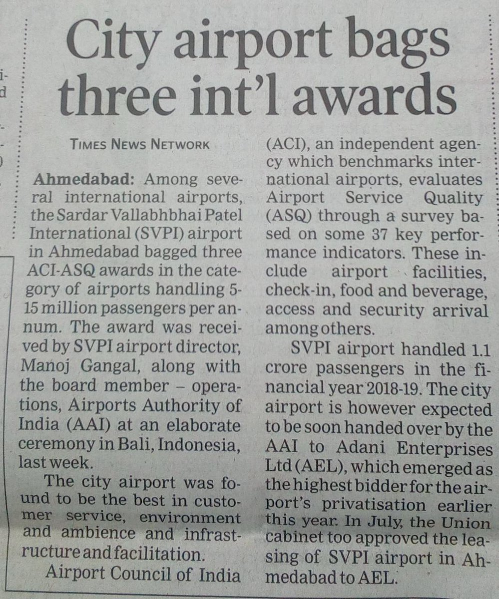 APD Ahmedabad (@aaisvpiairport) on Twitter photo 2019-09-09 02:55:29