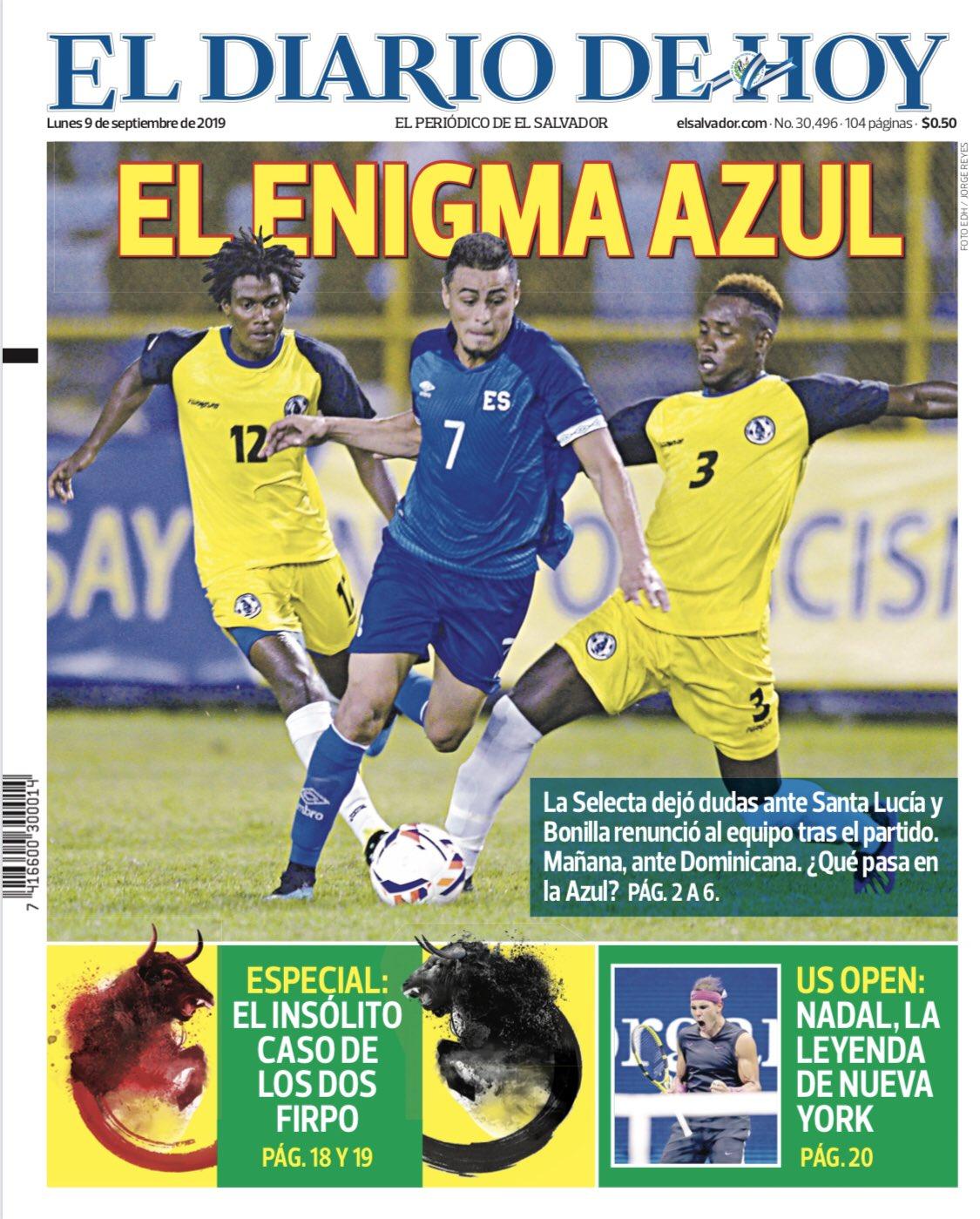 Liga de Naciones CONCACAF 2019: El Salvador 3 Santa Lucia 0. ED_f-ZqXUAUMfat?format=jpg&name=large