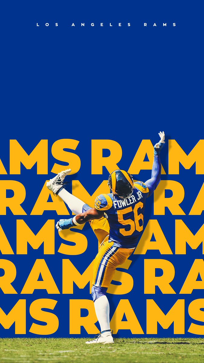 Los Angeles Rams On Twitter Fresh Wallpapers To Celebrate 1 0