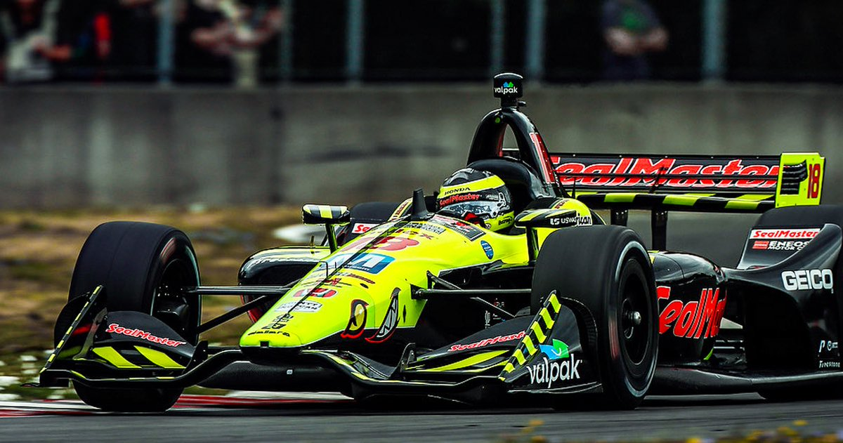 It was another day up front for @BourdaisOnTrack, leading laps in today's #PortlandGP before non-engine related fuel issues dictated a 9th place finish. #INDYCAR