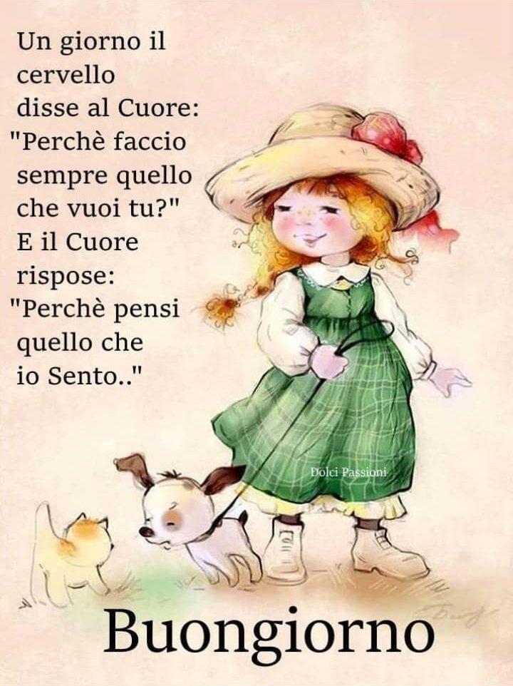 Buongiorno Mia Coccinella La Mattina Ho Poche Parole Da