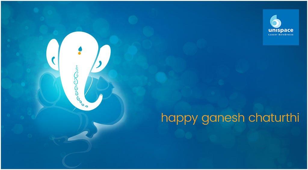 Unispace wishes you many pleasant beginnings. Happy Ganesh Chaturthi.    #ganeshchaturthi #vinayakachaturthi #happyganeshchaturthi https://t.co/68IBNroFnp