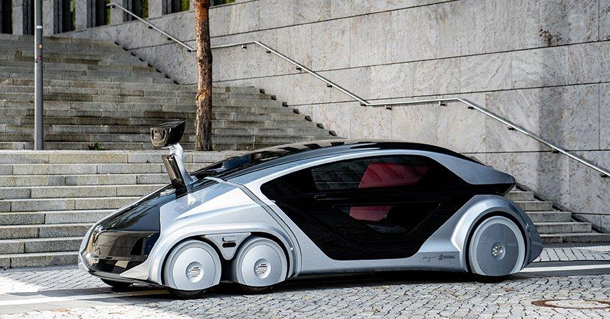 IOTAのデジタルペイメント装備を搭載したという、EDAGの「Citybot」。イイですねー未来ですね。せっかく仮想通貨と関わってるなら、もっとこういう未来感を満喫したいですよね。