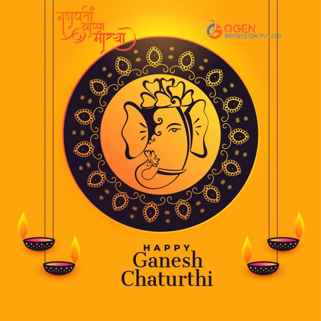 May lord Ganesha always stay your mentor and protect everyone from obstacles in life. OGEN Infosystem wishes you and family a very happy Ganesha Chaturthi! #GanpatiBappaMaurya #GaneshChaturthi #HappyGaneshaChaturthi https://t.co/Vp547rUhzF