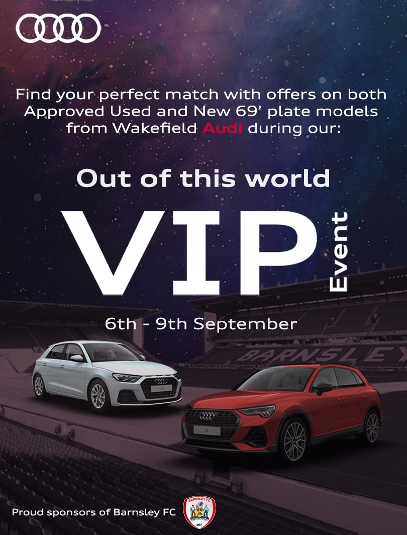 Fancy upgrade friends Wakefield Audi holding VIP event ...   wakefield audi used cars