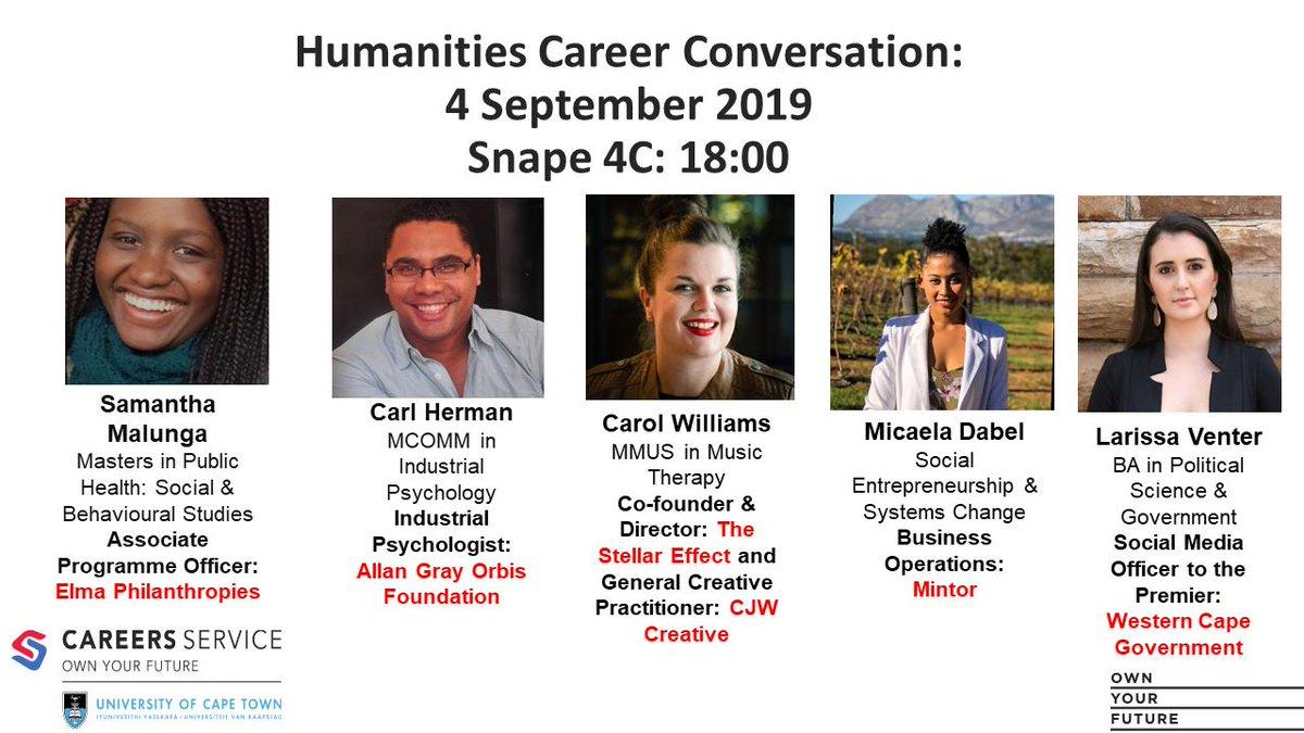 UCT Careers Service (@UCTCareers) | Twitter