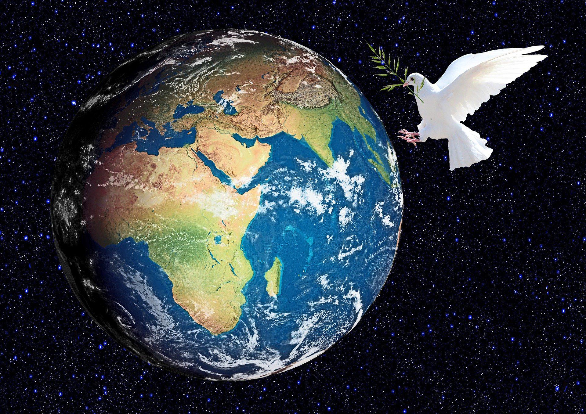 мир на земле фотографии ручной