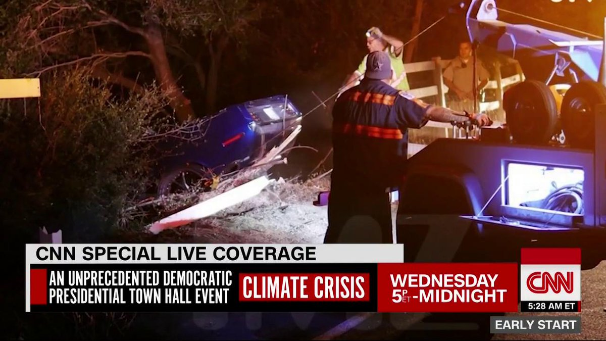 Acteur Kevin Hart raakt zwaargewond door auto-ongeluk. Bekijk de beelden.