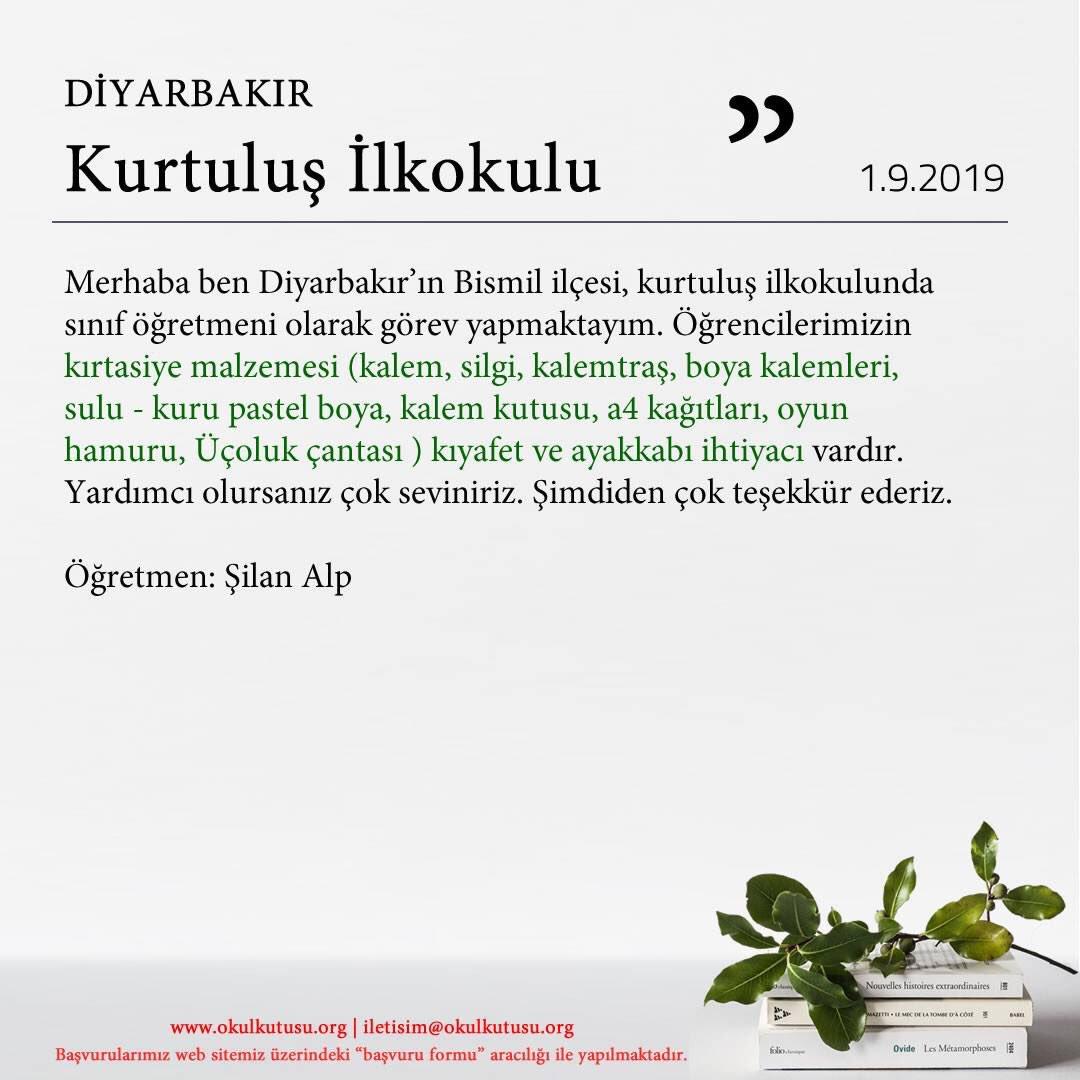 Okul Kutusu On Twitter Diyarbakir Kurtulusilkokulu Ogrencileri