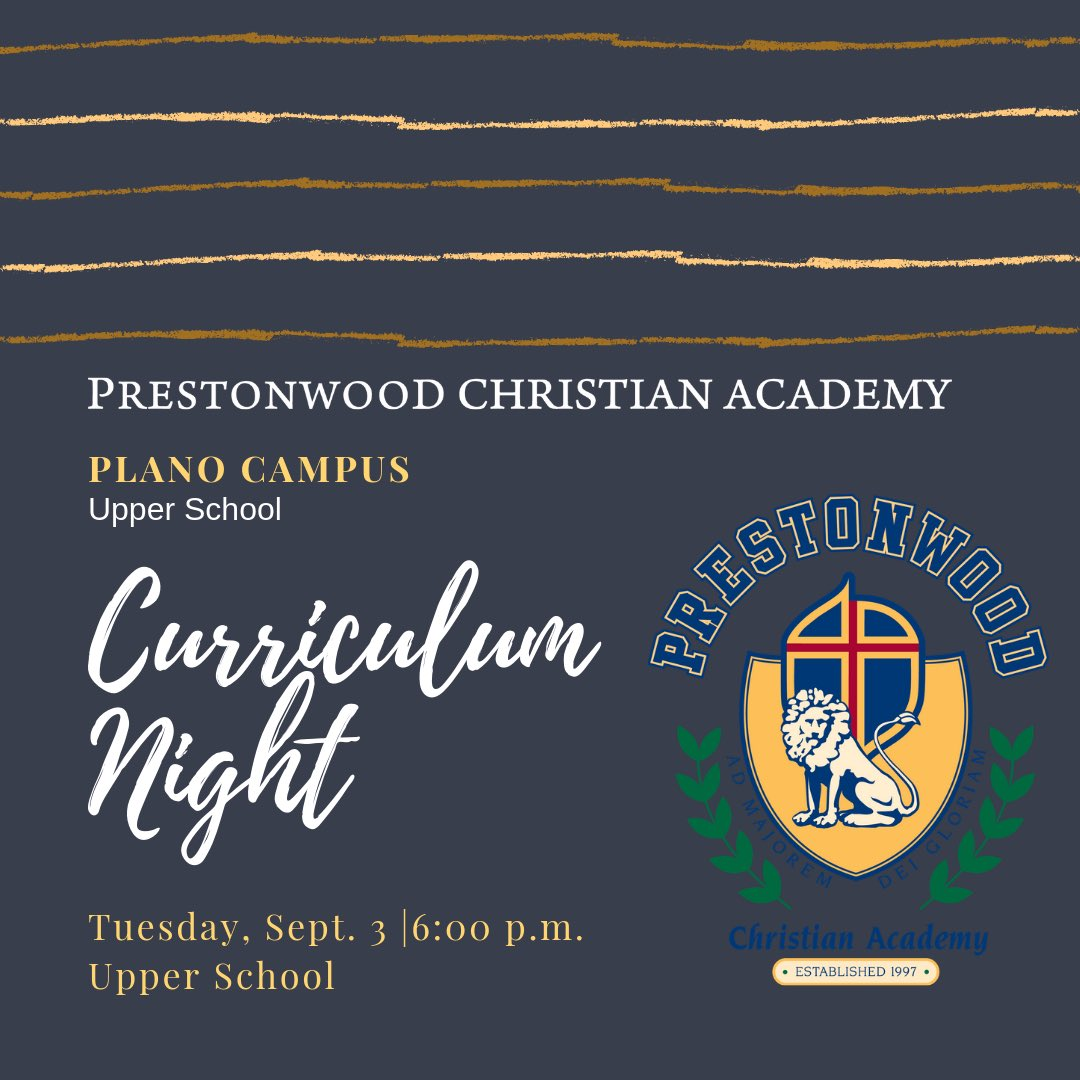 Prestonwood Christian Academy | Religious Private School in TX