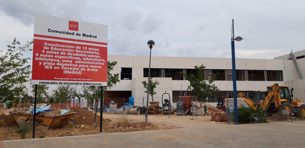 Los Alumnos De Los Nuevos Institutos De Loeches Y Torrejón