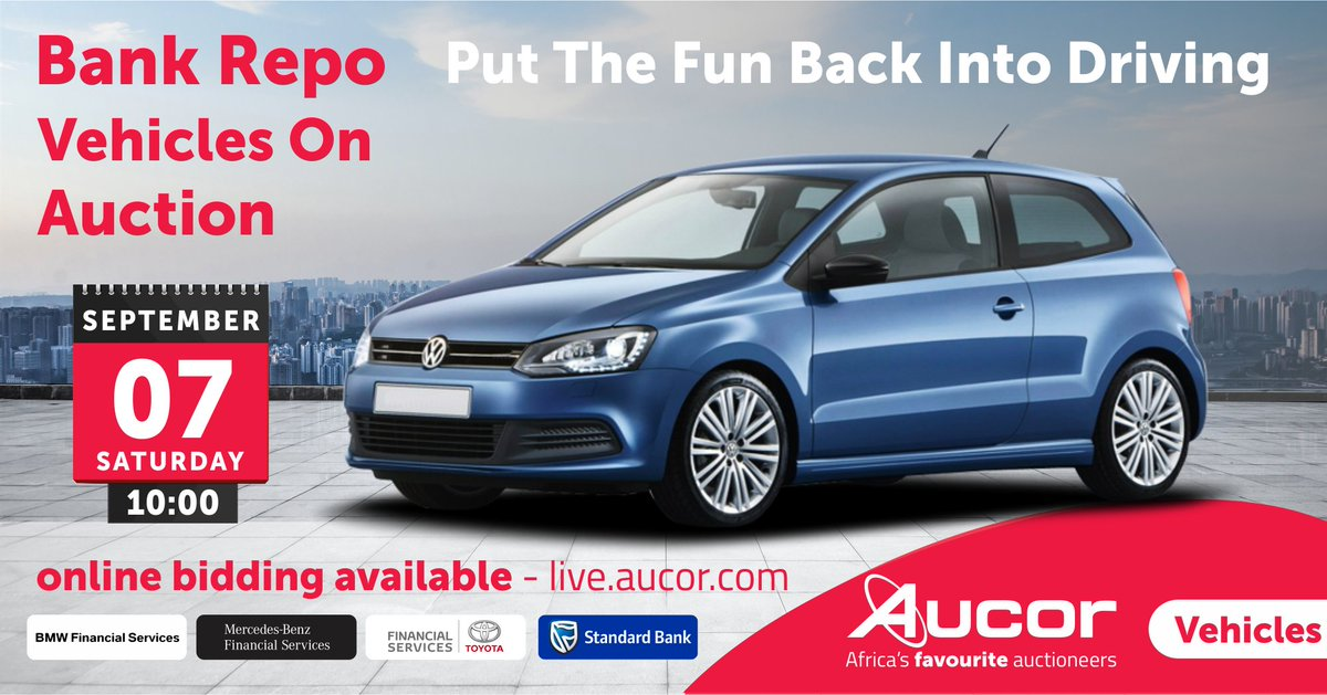 Aucor On Twitter Spice Up Your Ride At Saturday S Bank Repo