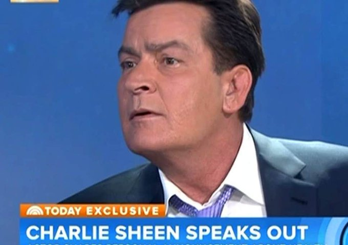 "September 3:Happy 54th birthday to actor,Charlie Sheen(""Hot Shots!\"")"