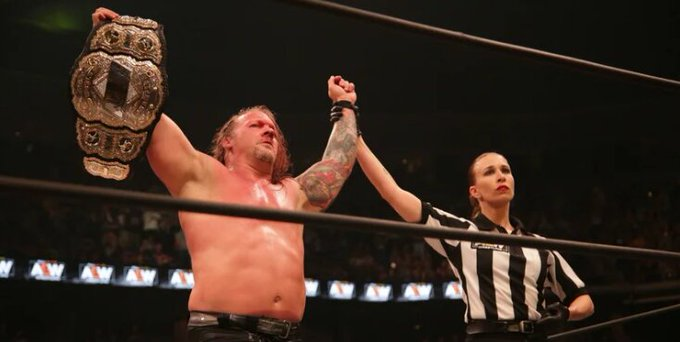 AEW World Title Belt Allegedly Stolen From Chris Jericho