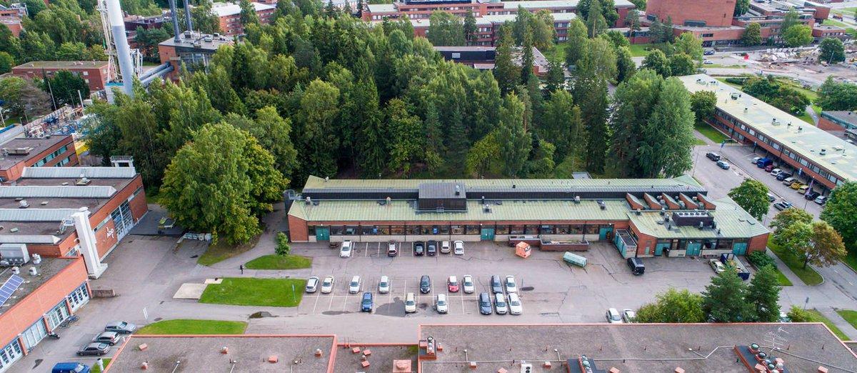 Aalto University A Twitter Otaniemen Kampuksella On Syksylla