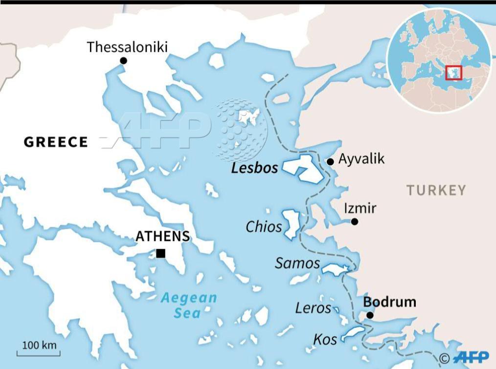 Map Greek islands Turkish coast hundreds migrants moved ... on switzerland map, greece map, mykonos map, zakynthos map, shetland islands map, kos map, tuscany map, hawaiian islands map, arabian islands map, tokyo map, popular islands map, lost islands map, kefalonia map, singapore map, lesvos map, bohemian islands map, turkish islands map, portugal map, thessaloniki map, patmos map, south africa map, corfu map, santorini map, chania map, mediterranean map, fiji map,