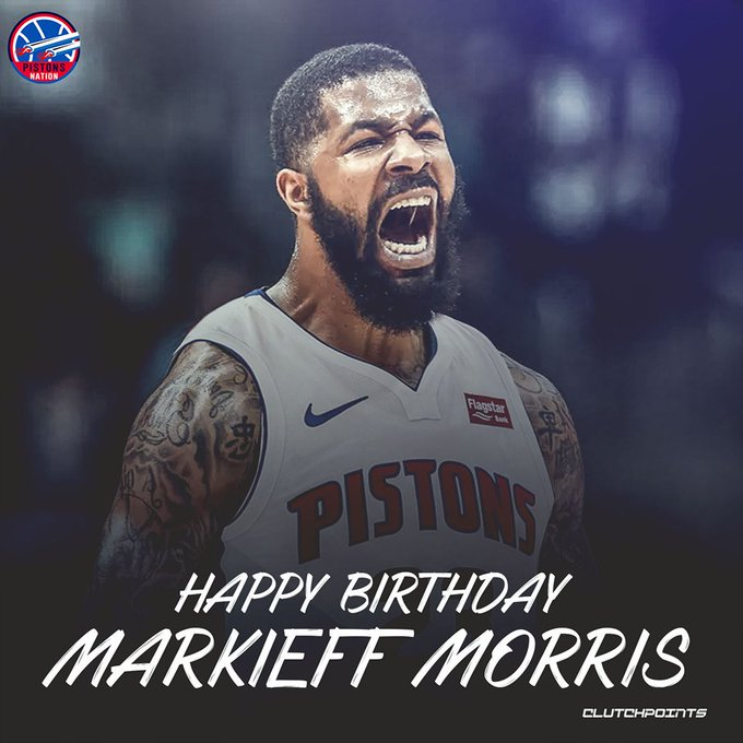 Markieff Morris's Birthday Celebration | HappyBday.to