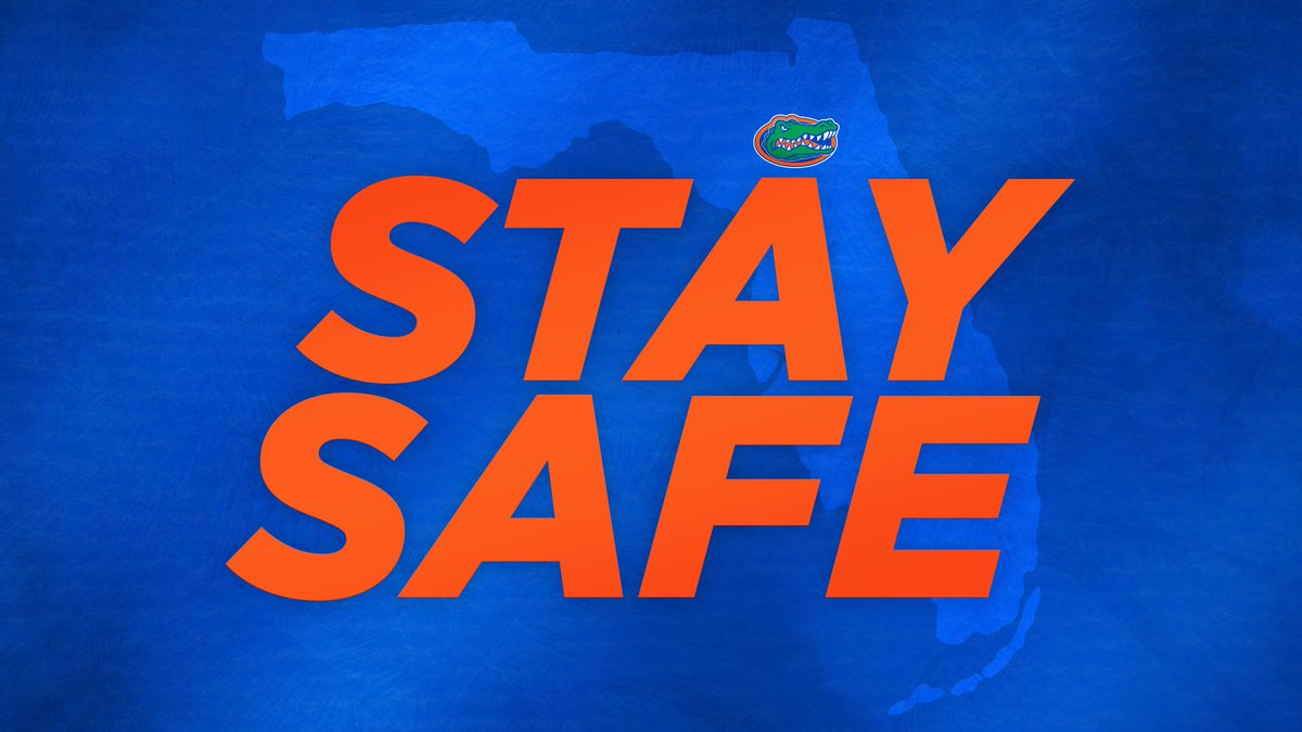To our fellow Floridians and those affected by Hurricane Dorian, we hope you stay safe.