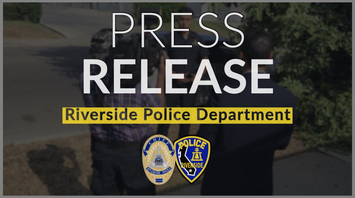 Riverside Police (@RiversidePolice) | Twitter