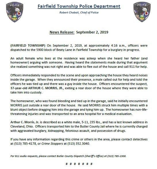 Fairfield Twp Police (@FairfieldTwpPD) | Twitter
