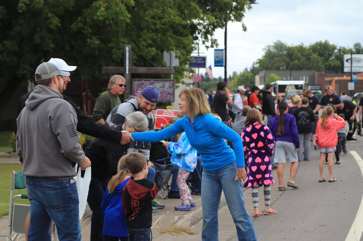 A great start to Labor Day at the parade in Cloquet, MN! Awesome to see so many folks along the parade route.