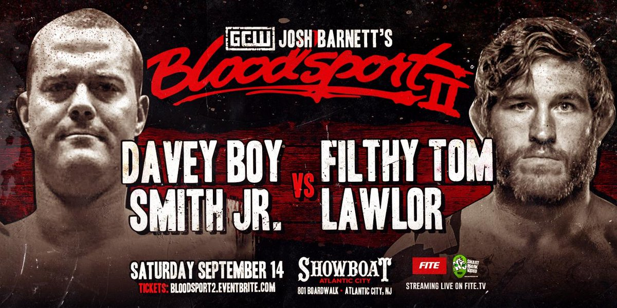 Smith-Lawlor at Bloodsport 2